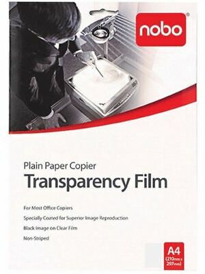 Nobo OHP Copier Transparency Film 100 Microns PP100C