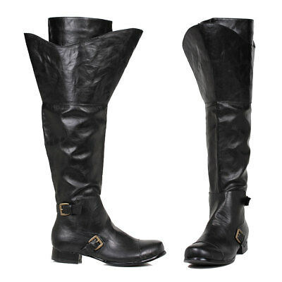 Mens Black Tristin Halloween Costume Boots