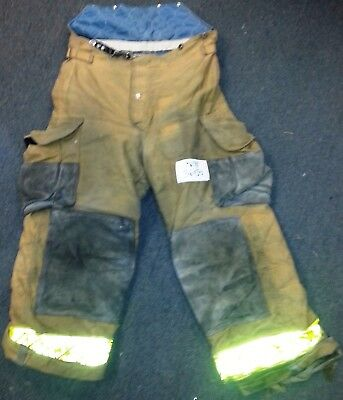36x38 36R Pants Trouser Firefighter Turnout Bunker Lion Apparel Janesville P678