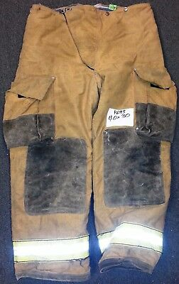 40x30 Pants Firefighter Turnout Bunker Fire Gear w/ Inner Liner Globe P693