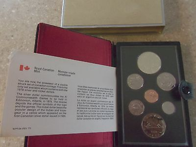 1-1978 1-1987-1988 proof like canadian  sets with the silver dollar