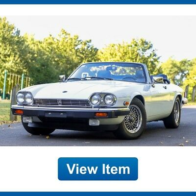1989 Jaguar XJS Base Convertible 2-Door 1989 Jaguar XJS V12 Convertible Low 69K Mi Rare Collectible Garaged CARFAX!