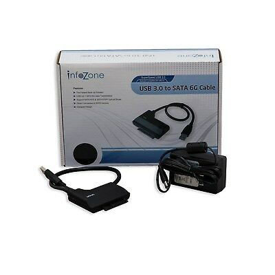 """IO Crest SY-ADA20079 USB 3.0 to SATA III Adapter Cable for 2.5"""" Hard Drive HDD"""