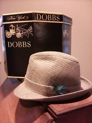 Vintage Dobbs Hat box and Hat
