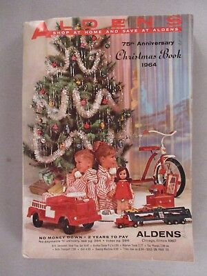 Aldens CATALOG - Christmas, 1964 ~~ toys, toy