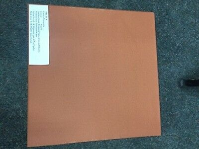 Floor Tiles: Terracotta UG seconds (Yulara). 8 pack. (Tile size 300x300x14mm)