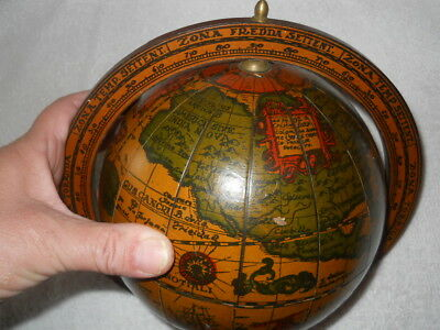 Antique 1492 globe... LOOK!