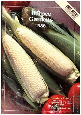 Burpee seed Garden catalogue 1988