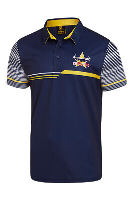 North Queensland Cowboys NRL 2018 Classic Sublimated Polo Shirt Size S-5XL!