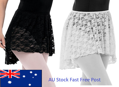 Girls Lace Pull-on Skirt for Ballet and Dance
