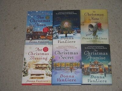 6 Donna VanLiere Christmas HCs~Christmas Shoes~Note~Promise~Secret~Hope~Blessing