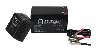 Mighty Max 12V 7Ah SLA Battery Replacement for JohnLite JML-2940 12V Charger