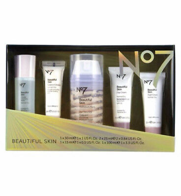 """No7 BEAUTIFUL SKIN REGIME COLLECTION  BEAUTY GIFT SET IN A BOX """"FAST DELIVERY"""""""