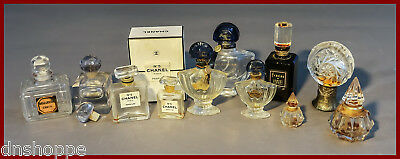 Commercial Perfume Bottles Lot, Chanel, Fracas, Guerlain, Bellodgia Caron +