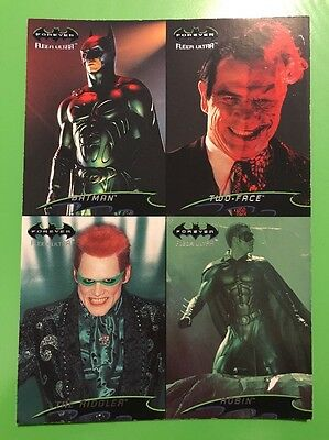 Batman Forever: Fleer Ultra Promo Sheet 1995