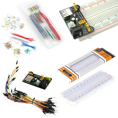 830 MB102 Point Breadboard 1660 Power Supply module W Jump Wire For Arduino