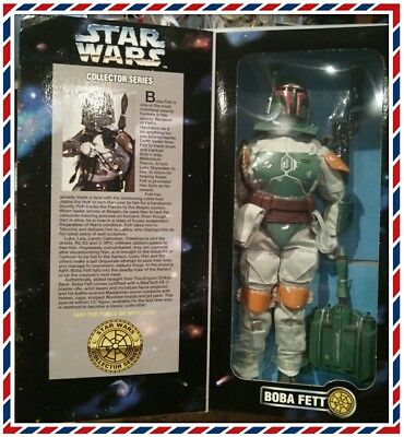Star Wars Collector Series 30cm Boba Fett Figure. mint in box HASBRO