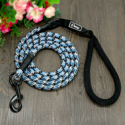 6ft Long Climbing Rope Dog Leash Rolled Medium Large Leash for Per Walking