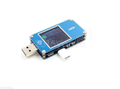New ARM M3 TFT LCD USB Power Monitor MFI Voltage Current Meter Type-C USB PD