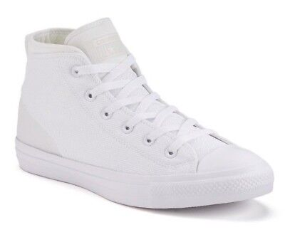 3e2b374ef6f Adult Converse Chuck Taylor All Star White Syde Street Mid Shoes -NWOB-Size12