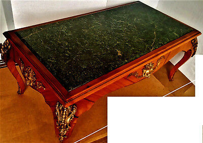 Beautiful French Louis Style, Marble Top, Coffee Table