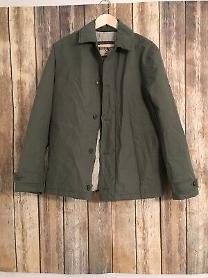 Aigle Mens Jacket Quilted Lining Green M