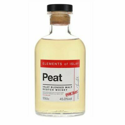 New Elements of Islay Peat Pure Islay Blended Malt Scotch Whisky 45% 500ml