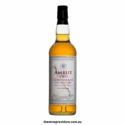 New Amrut Two Continents Single Malt Indian Whisky (700ml)