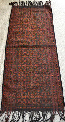Ikat 'selimut' or shawl, Lio, Ende, Flores