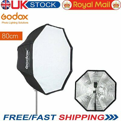 [UK] Godox 80cm Octagon Umbrella Softbox for Speedlite Studio Flash Speedlight
