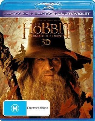 3D The Hobbit - An Unexpected Journey (Blu-Ray 3D + Blu-Ray + Ultraviolet)