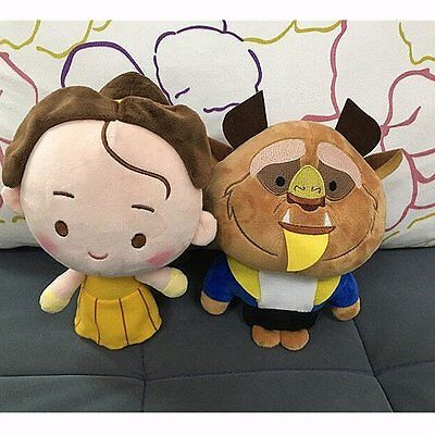 2017 Beauty And The Beast Belle Princess Prince Soft Plush Dolls Xmas Gift Toys