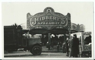 Hyde Stockport Hibberts Electric Speedway Fairground Amusement Ride RP Unused