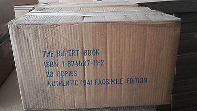 1000x RUPERT ANNUAL 1941 FACSIMILES IN ORIGINAL PUBLISHERS PACKING