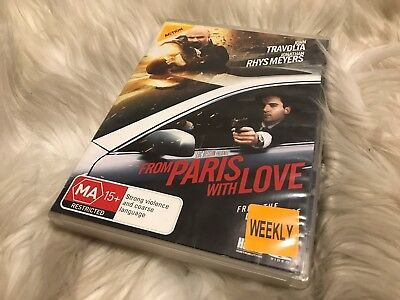 From Paris With Love - DVD - Free Postage - Ex Rental