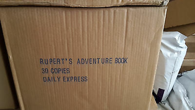 300x RUPERT ANNUAL 1940 FACSIMILES IN ORIGINAL PUBLISHERS BOXES  shrink wrapped