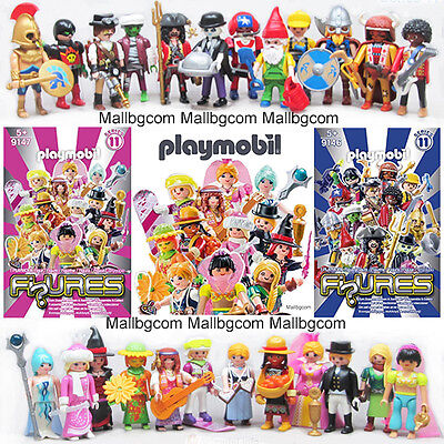 ☀️ NEW Playmobil Series 11 Complete Collectible Set 9146 Boys & 9147 Girls ✅✅✅