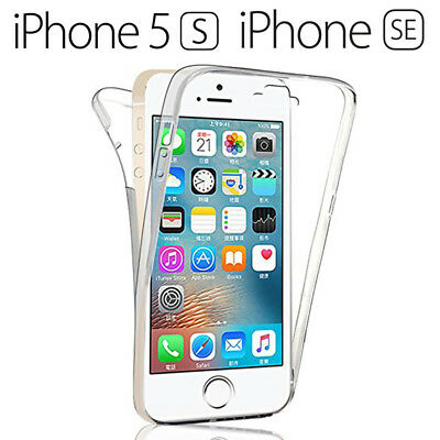 Funda Proteccion 360º Gel TPU Hibrida Transparente iPhone 5 5S SE