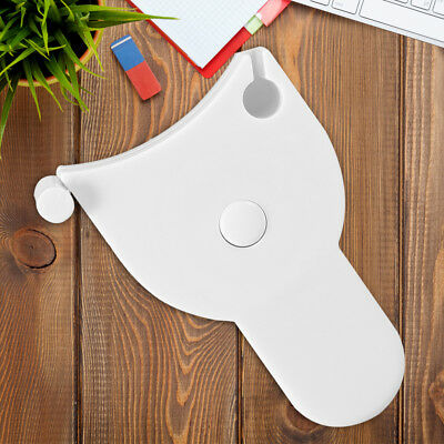 150cm Accurate Tape Measure Body Fitness Measuring Retractable Ruler White wt