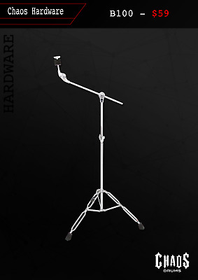 Chaos Drums B100 Boom Cymbal Stand