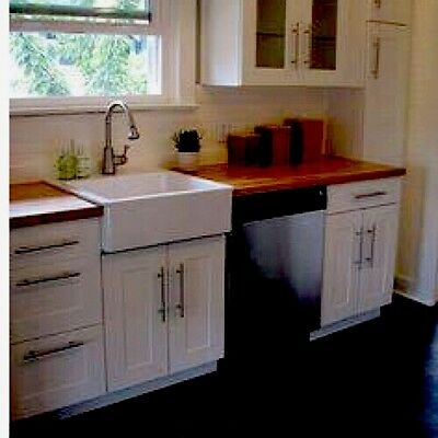 Butler Farmhouse Sink Apron Front Country Kitchen Bathroom Laundry Renovation