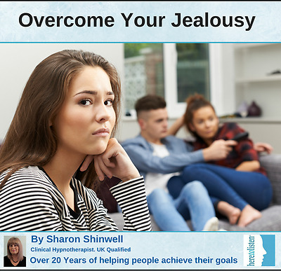 Overcome Jealousy and Possessiveness with our Hypnosis and CBT session on CD