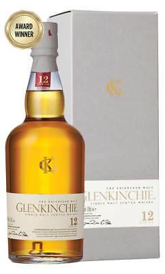 Glenkinchie 12YO Scotch Whisky 700ml(Boxed)