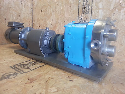 Waukesha Stainless Steel Possitive Displacement Pump