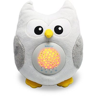 Baby Sleep Aid Night Light Led Projector Sound Machine Shusher Lamp 10 Songs Toy