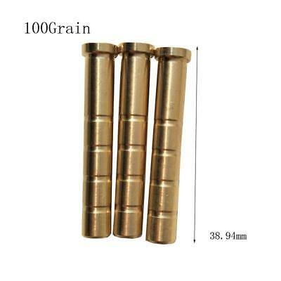 50 Heavy weight inserts 100grain for carbon arrows with internal diameter 0.2...