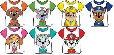 5f9f437fbcb86 Childrens Paw Patrol T Shirt Top Zuma Skye Everest Rocky 2-7yrs FREE UK P&P