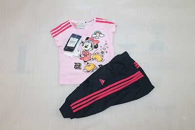 ADIDAS DISNEY MINNIE MOUSE INFANTS TRACKSUIT sz...6 MONTHS...BNWT 15