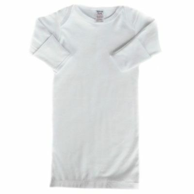 Baby Sleep or Nightgown with built in scratch mitts in choice of 3 colours