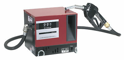 Sealey diesel/fluid transfer system 56ltr/min wall mounting with meter 230v